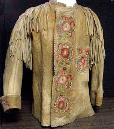 Native American Buckskin Clothing http://clothjac.com/buck-skin-jackets/